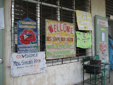 Welome signs at RTNHS