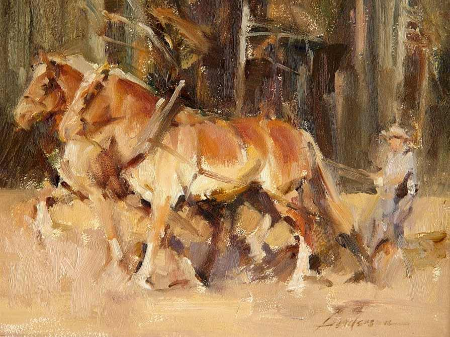 My World: Great artist Carolyn Anderson & paintings