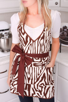 Who said aprons can't be sexy? I love these!