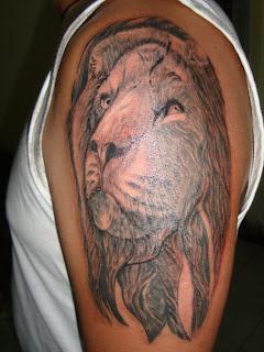 Lion arm sleeve