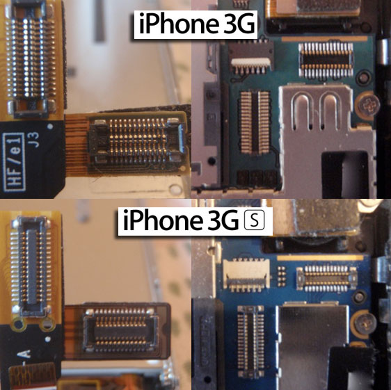 difference between iphone  3g