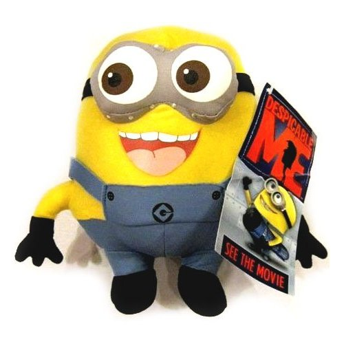 25cm Xmas Minions Soft Toy 3D Eyes Original Despicable Me