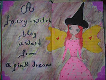 A fairy witch blog award...