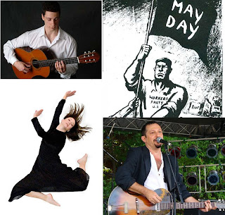 may day, Reid Paley, dance month, Grigory Goryachev