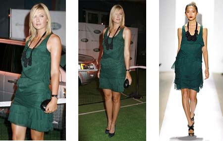 maria sharapova hot fotos. maria sharapova tennis clothes