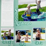 Splish Splash: laugh, live, love