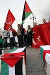 Manifestacion Solidaridad con Palestina