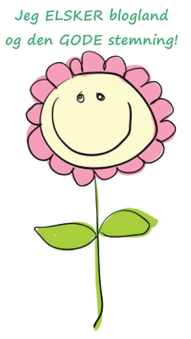 Blomster til alle... Sæt den gerne på din egen blog også!