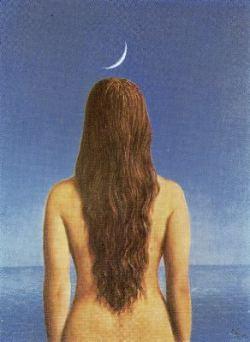 vestida para ti (ilustracción de R.Magritte)