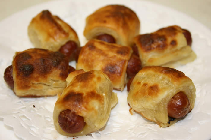 pigs in blankets. Pigs in a Blanket Recipes.