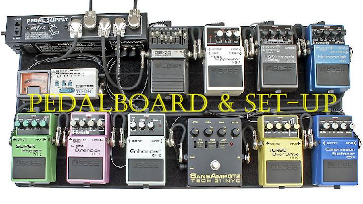 Pedalboard e Set-Up