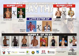 V Desafio Profissional de Muay Thai