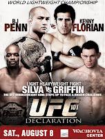 UFC 101 - Declaration