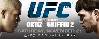 UFC 106 - Ortiz vs Griffin 2 - Card e Resultados