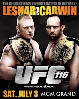 UFC 116 - Card e Resultados