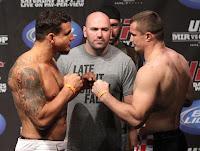 UFC 119 - Resultado da pesagem