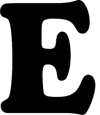 Tarefinhas modelos de letras de a a m para mural for Plantillas letras grandes