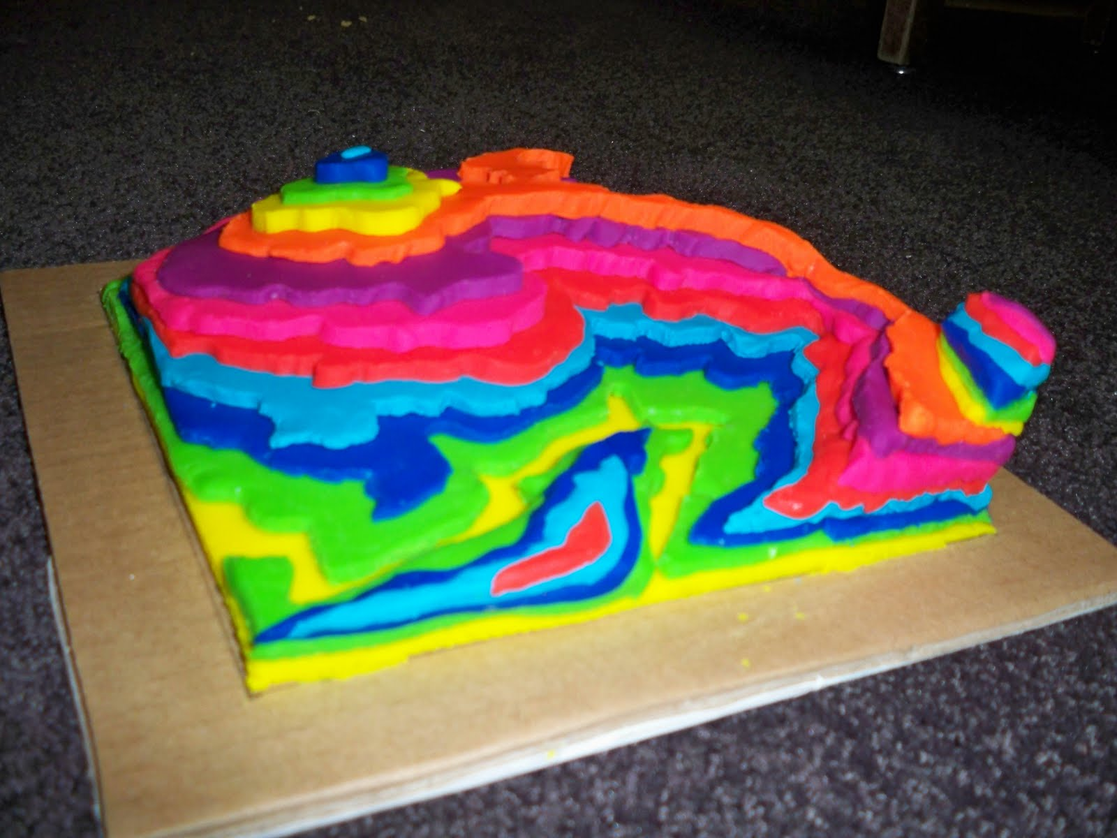 The Exquisite Object: Katie Cappadonia: Topography Map Project