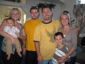 Amber, Kenzie, Justin, Paul, Lori & Kaimon