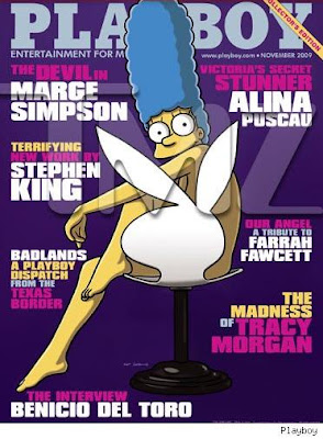 Marge simpson goes nude for playboy mind relaxing ideas - Marge simpson nud ...