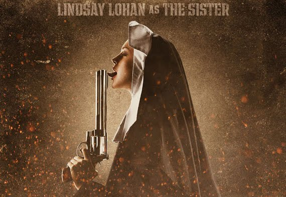 lindsay lohan machete picture. checkout Lindsay Lohan