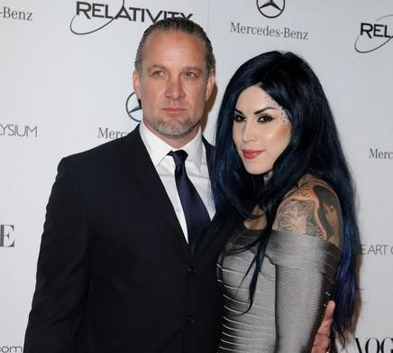 jesse james and kat von dee. Jesse James and Kat Von D are