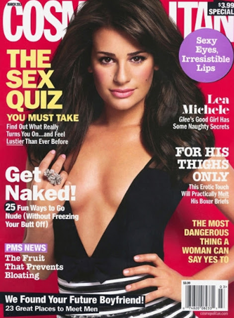 lea michele cosmopolitan photos. the Lea+michele+cosmo+