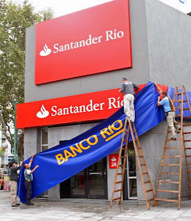 Banco Rio devient Santander Rio