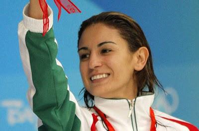 Paola Espinosa  Mexico  9 - Olympic hotties