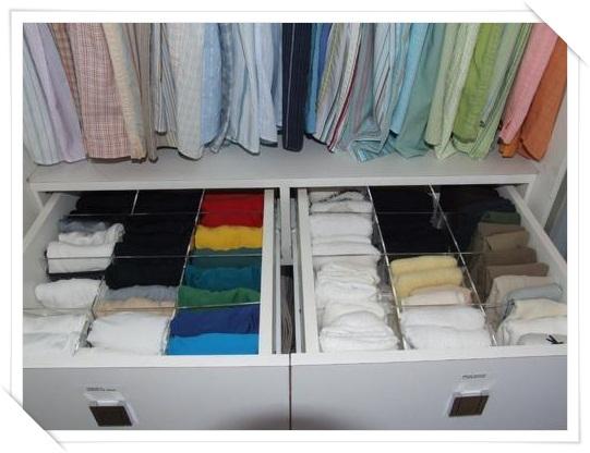 Como organizar seu closet aninteriores for Organizadores para closet