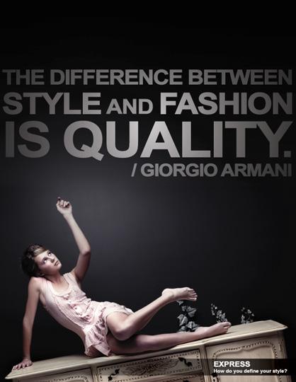Fuchsia girl. Fashion Quotes