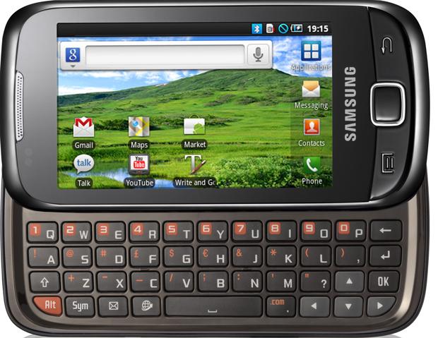 551 samsung i5510 merupakan handphone hybrid android samsung terbaru ...