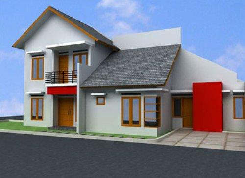 Ragam ide Model Gambar Rumah Minimalis 2 Lantai Terbaru 2015 yg cantik