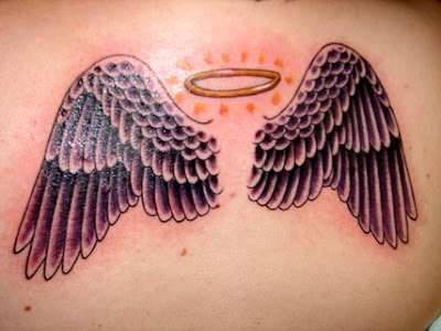 Tag :angel wing tattoo designs,angel wing tattoo flash,nicole richie angel