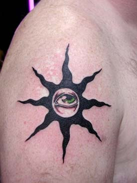 Filipino Tribal Tattoos on Tribal Sun Tattoo For Self Protection And Well Being   Tattoo Design