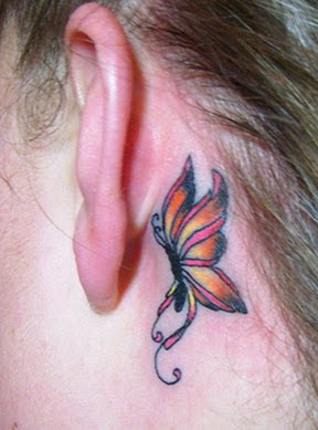 pictures of butterfly tattoos
