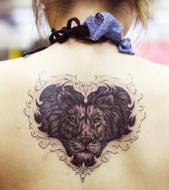lion tattoos. lion tattoos,tribal lion