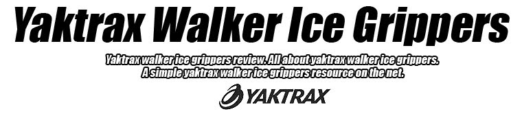 yaktrax walker ice grippers