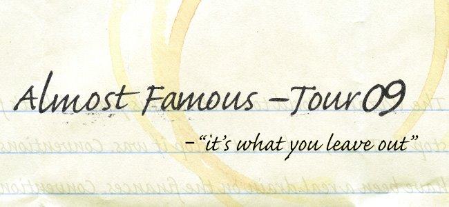 Vinh-Luan Luu : Almost Famous Tour