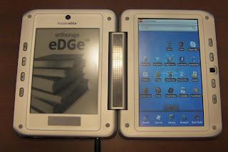 dwuekranowy tablet-czytnik - Entourage Pocket Edge