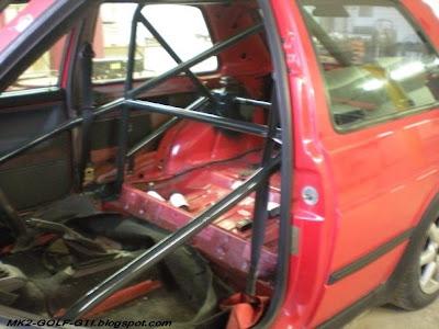 MK2 GOLF GTI roll-cage