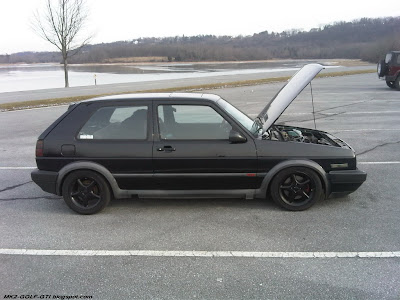 Black MK2 GOLF GTI