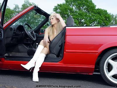 BMW E30 Sexy girl
