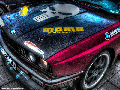 BMW E30 M3 photoshop