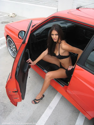 BMW E30 M3 hot girl