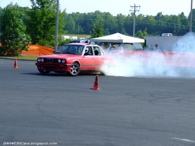 Sedan E30 S50 drifting