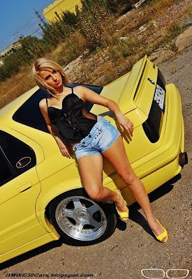BMW SEXY GIRL E30