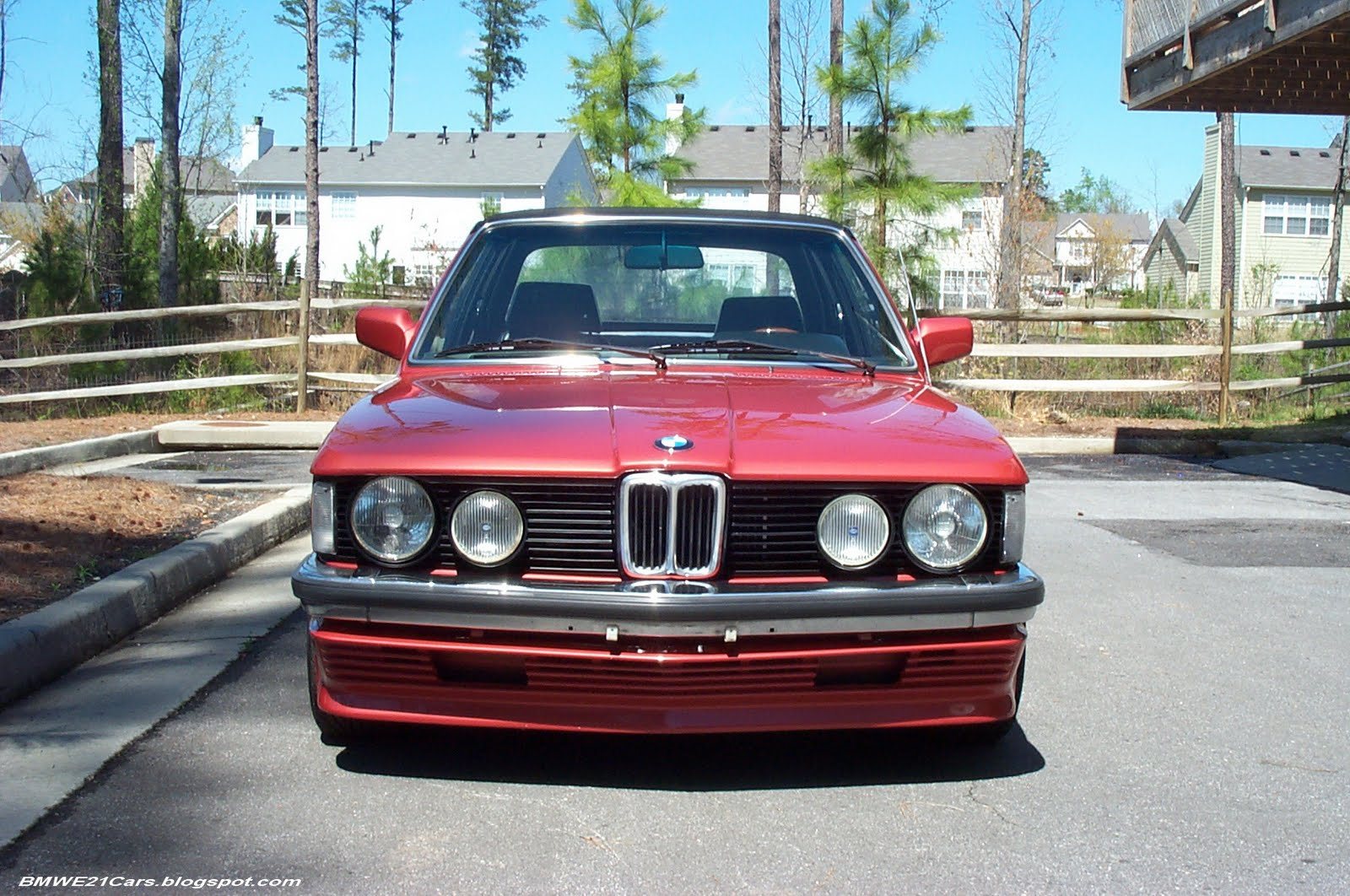 BMW E21 with 2.8L engine and