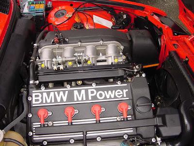Red E30 M3