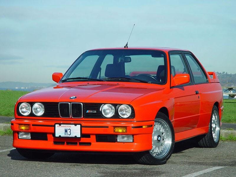 BMW E30 CARS: Red E30 M3